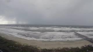 Storm off of Atlantic Beach, NC 5/25/2017