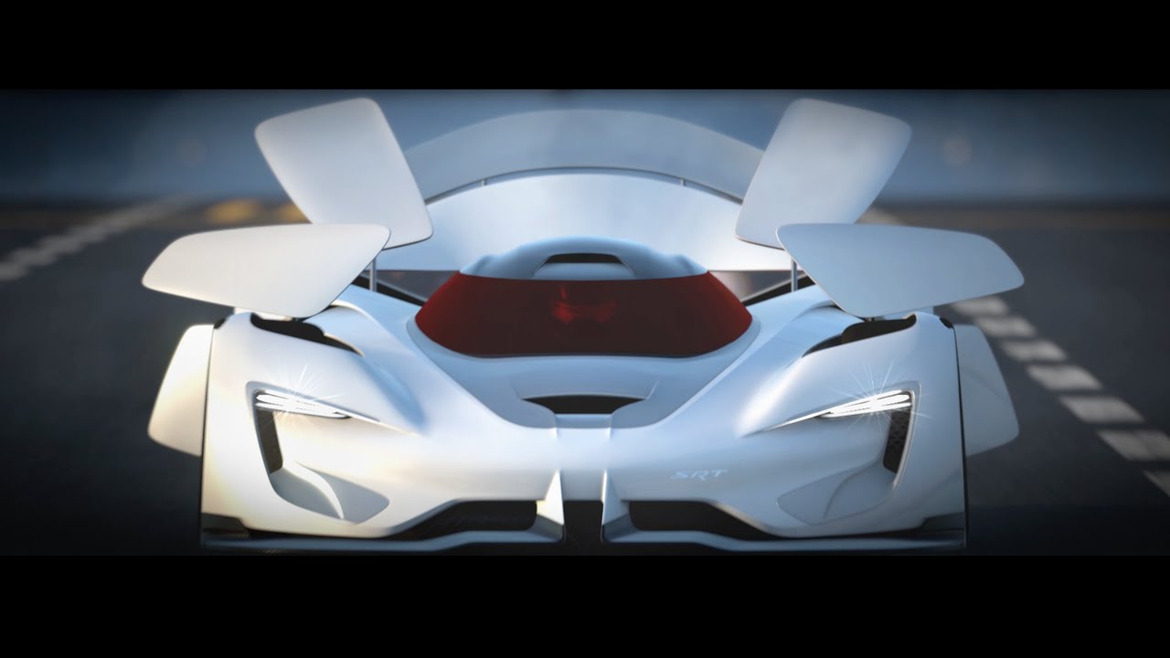 SRT Tomahawk Vision Gran Turismo Revealed - gran-turismo.com on