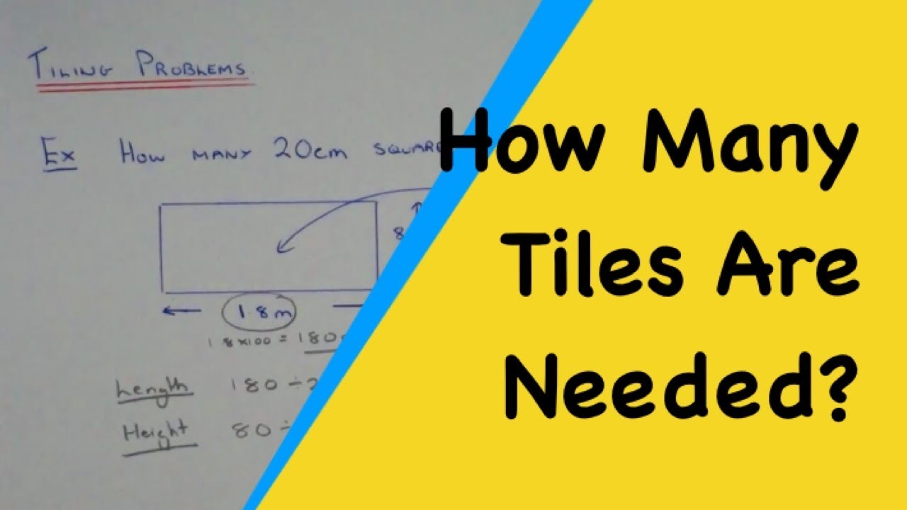 How many tiles fit the wall space functional maths problems how many tiles fit the wall space functional maths problems youtube dailygadgetfo Images