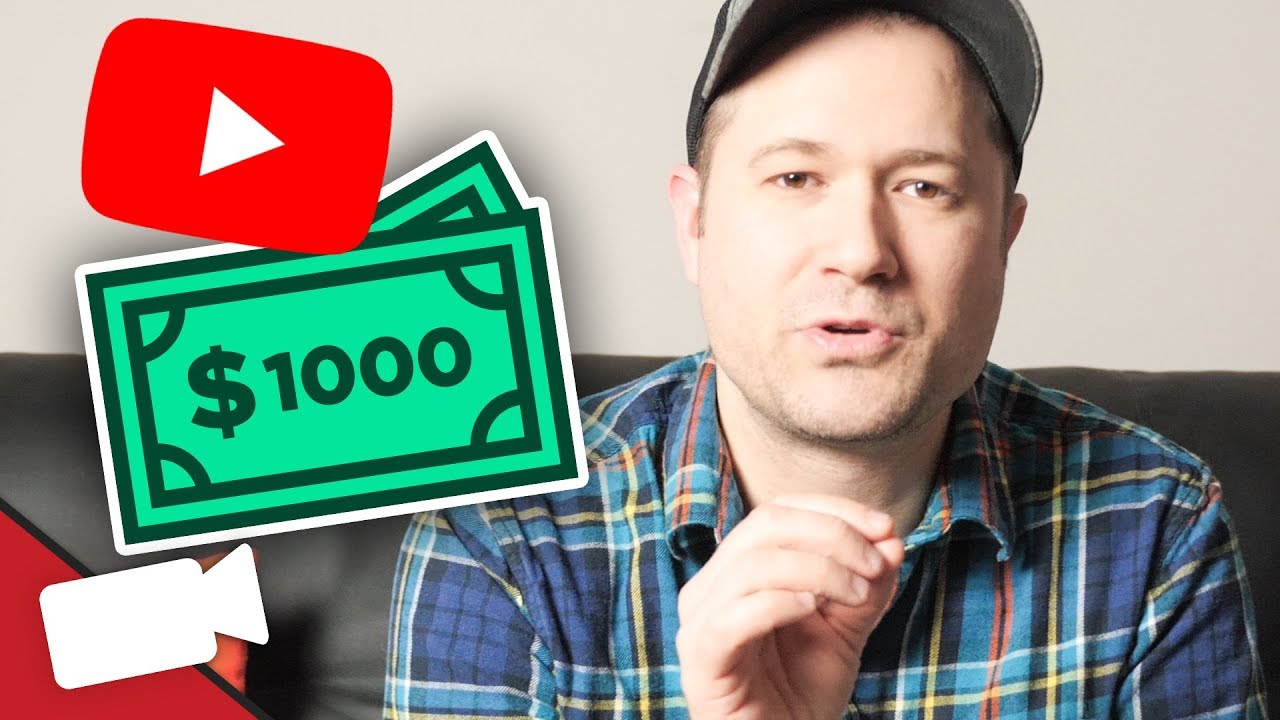 How Many Subs Do You Need to make $1,000 on YouTube? - YouTube