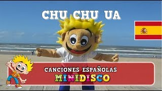 Canciones Infantiles | Baile | Video | En La Playa | CHU CHU UÁ | Mini Disco