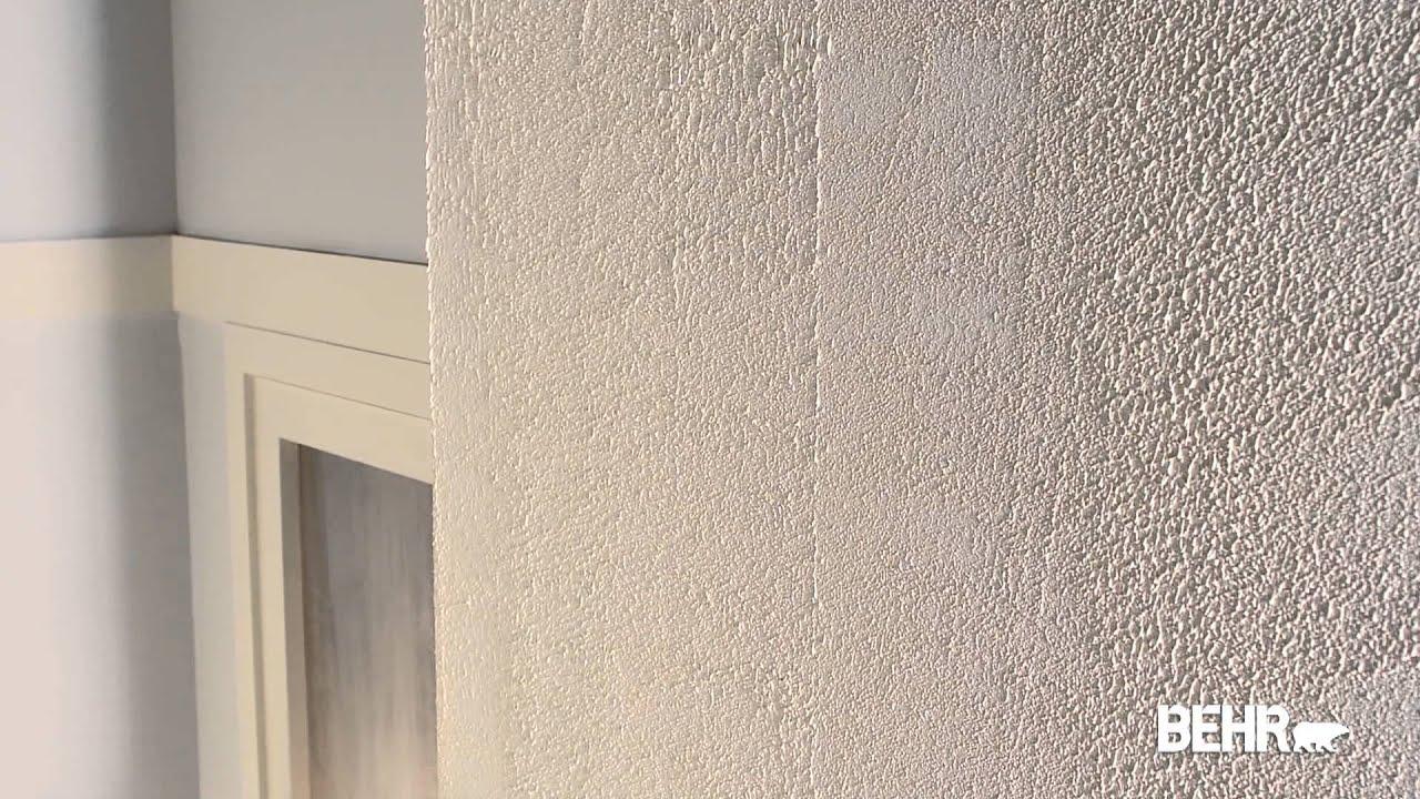 pintura behr como aplicar pintura texturizada aplanada