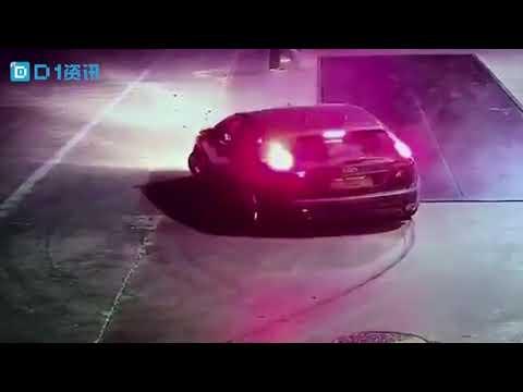 hidden camera: dead body dumped from car
