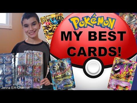 My Best Pokemon Cards 2017! Jenna Em