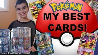 My Best Pokemon Cards 2017! Jenna Em