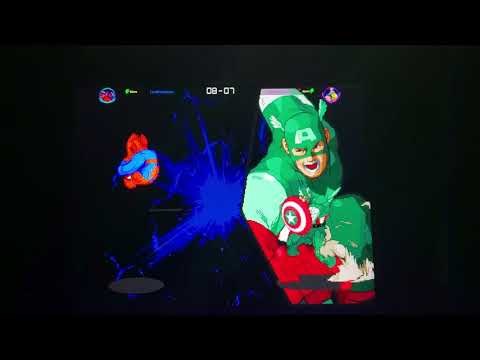 lordorochimaru vs SCRAMERRATIC online marvel vs capcom Arcade1up online matches from Morty 215 fight club bring your quarters