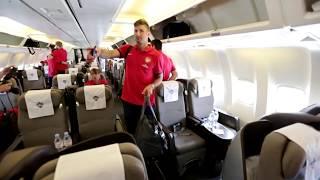 Arsenal Tour 2013 - Day 1 - Into Indonesia