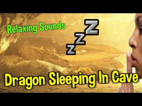 Dragon Sleeping In a Cave | Dragon Sleeping Sound | Ambience Sound | 1 hour  🎧