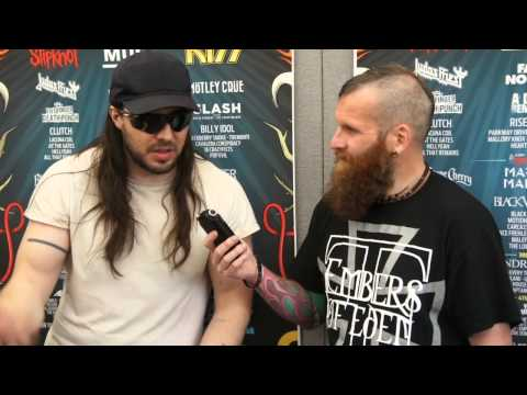 Andrew W K  Download Festival Interview 2015