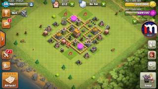 Clash of clans this glitch must be fixed|Clash of clans