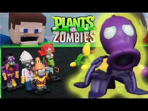 Plants vs Zombies K\'NEX lego Series 5 Garden Warfare 2 GW2 Toys Full ...