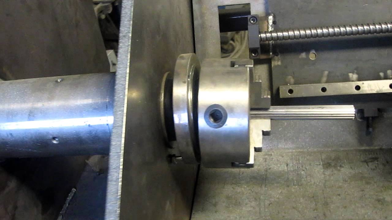 Diy Cnc Lathe Part 1 Youtube