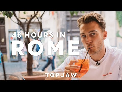 48 HOURS IN ROME ft. Pizza Pockets, Hidden Bars and Sweaty Men