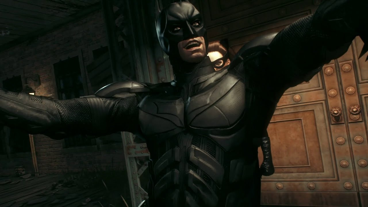 Batman Arkham Knight Catwoman Saves Batman From The