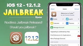 iOS 12 - 12.1.2 Jailbreak RELEASED! What You Need to Know | JBU 73