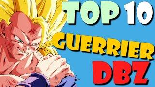 TOP 10 Combattants de Dragon Ball Z !