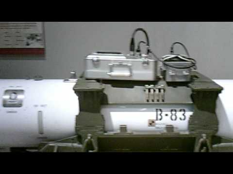 B83 thermonuclear weapon currently in the USAF inventory.