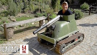 German bathtub tank
