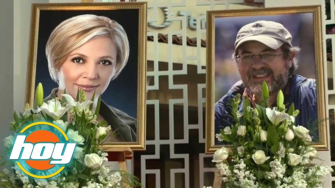 Maru Duenas Y Claudio Reyes >> HOY | Emotivo último adiós a Maru Dueñas y Claudio Reyes - YouTube