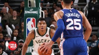 The Greek Freak would be frightening with a jump shot – Stephen A. | Stephen A. Smith Show