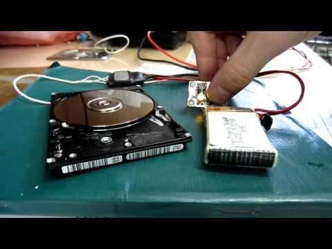 запуск двигателя HDD - YouTube