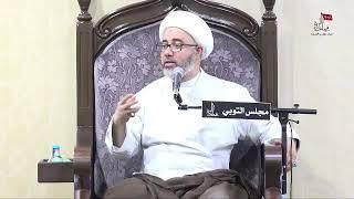 الشيخ مصطفى الموسى - الإمام الحسين عليه السلام يخاطب أبوالفضل العباس عليه السلام أركب بنفسي أنت