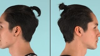 How to do a topknot | ASOS Menswear grooming tutorial