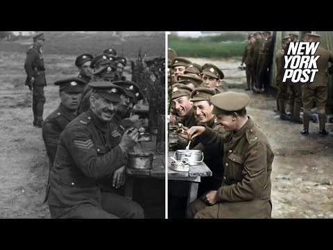 BCC produz documentário colorido de vídeos da 1° Guerra Mundial