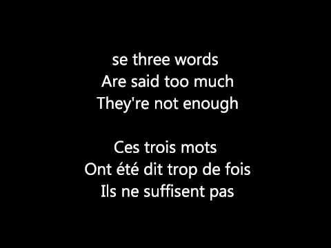 snow patrol -chasing cars lyrics traduction