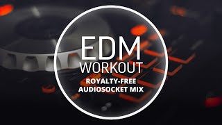 Royalty Free EDM Workout Music (1 Hour by Audiosocket) - royalty free edm music download