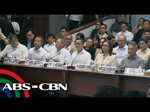 LIVE: Senate hearing on ABS-CBN compliance with franchise terms and conditions