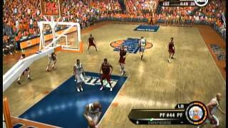 EA Sports NCAA March Madness 07 (X Box 360) Game Play