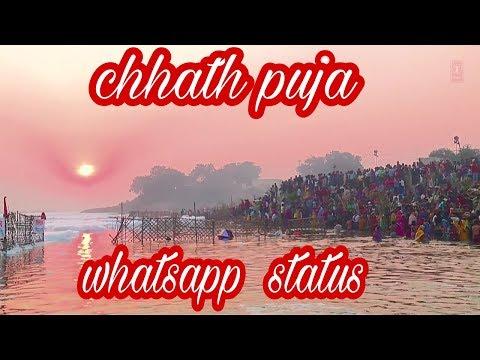 Chhath Special Whatsapp Status