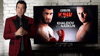 KSW 42 Breakdown by Robin Black - Mamed Khalidov vs. Tomasz Narkun