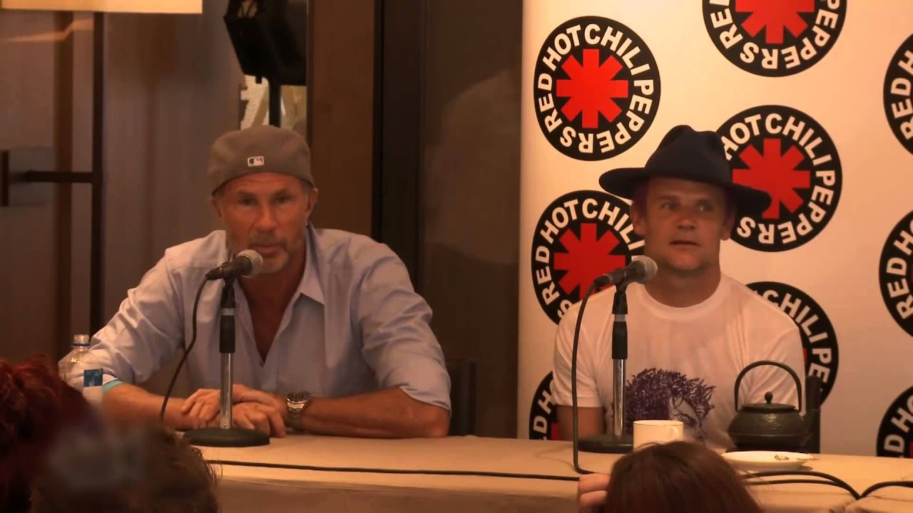 Download Red Hot Chili Peppers 2013 Chad Smith Press Conference Story about Will Ferrell