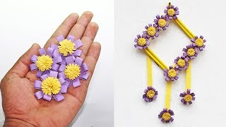 Amazing Paper Flower Wall Hanging | DIY Paper flower wall hanging | Easy Home decor DIY