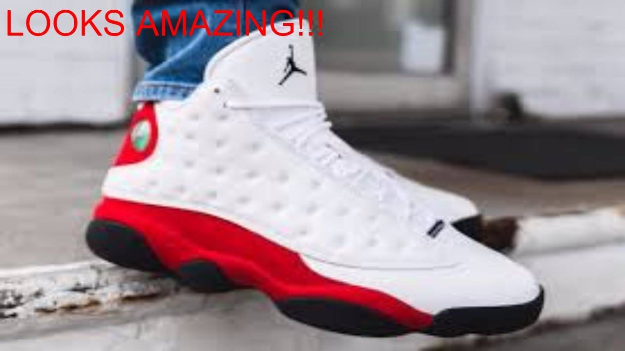 77e707677f5a DHGATE JORDAN 13 CHICAGO 🔴⚫!!!!! - YouTube