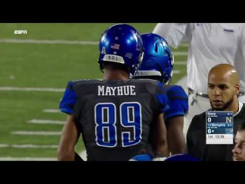 Anthony Miller Football U of Memphis Tiger WR Highlights 2015-16
