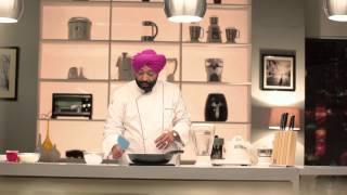 Strawberry And Kiwi Smoothie With Havells Juicer Mixer Grinder By Chef Harpal Singh Sokhi
