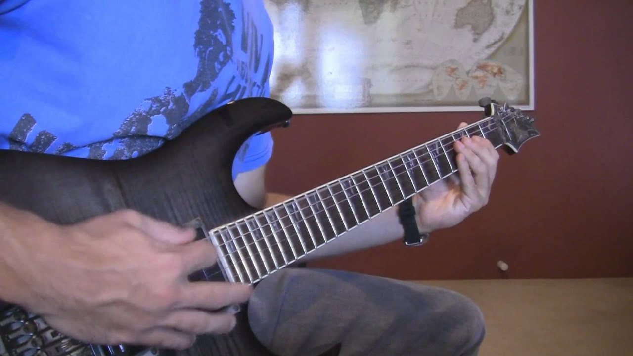 muse stockholm syndrome guitar cover hd youtube