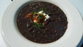 Black Bean Soup - How To Make Black Bean Soup Recipe
