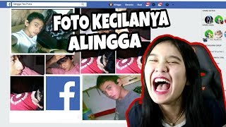 PACAR LIAT FOTO ALAYKU DI JAMAN FACEBOOK SAMPE NGOMPOL !!! - Reaction part 1