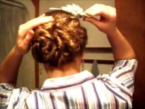VictorianModern Hair Updo Tutorial For Long And Thick