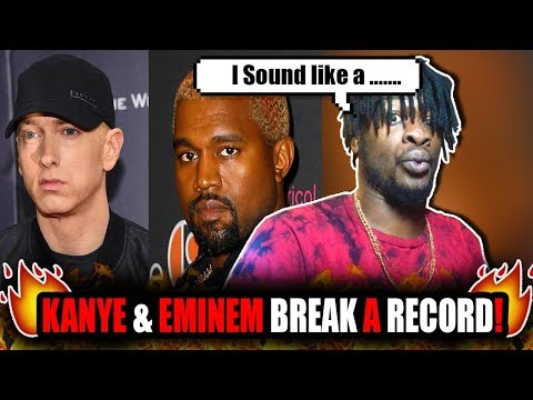 Eminem & Kanye West Break Spotify Record! Mp3