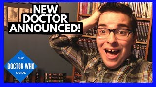 New Doctor Who Actor! Reaction & Thoughts on the New Doctor!