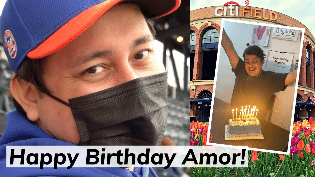 Hubby's birthday weekend | Mets game day vlog | Washington Nationals vs NY Mets April 24-25, 2021