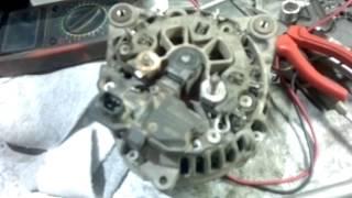 Алу және жөндеу генератор Renault Logan 2010 г 16 клапандардың Гур + Кандиционер