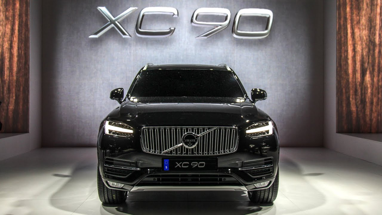 weltpremiere 2015 volvo xc90 stockholm suv youtube. Black Bedroom Furniture Sets. Home Design Ideas