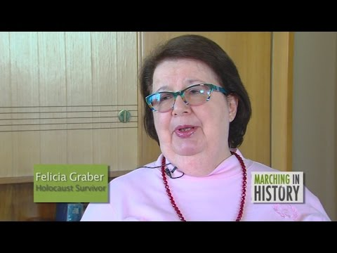Felicia Graber survived the Holocaust in Nazi-occupied Poland