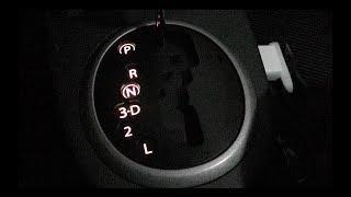 Suzuki SX4. Gearshifter Light Bulb change. Замена лампочки подсветки ручки АКПП на Suzuki SX4.